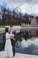 Свадебное болеро из норки прокат меха в аренду фото