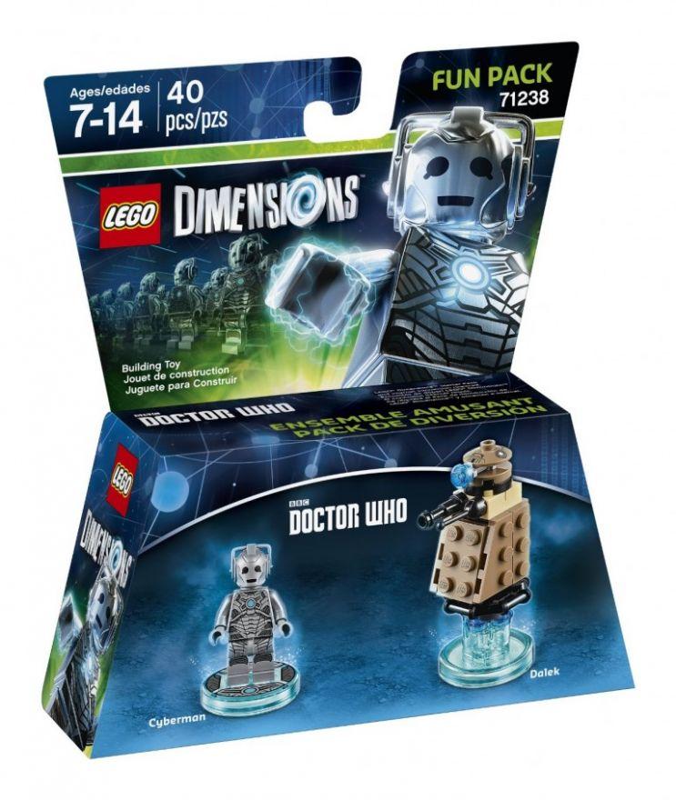Lego Dimensions 71238 Cyberman (серия Doctor Who)
