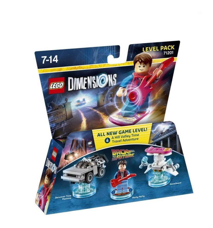 Lego Dimensions 71201 Level Pack Marty McFly  Back tothe Future