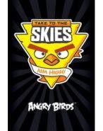 """Блокнот 40л А6ф клетка отрывная склейка серия """"Angry birds"""" (арт. 40Б6B1к) (11799)"""