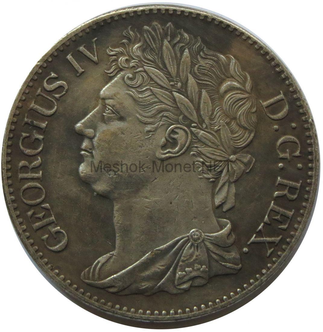 Копия Пенни 1822 год Ирландия Георг 4