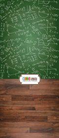 """Фон """"To school"""" 3x1,5 (3,5x1,5 м)"""