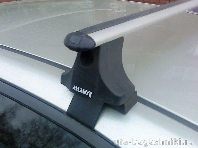 Багажник на крышу Toyota Corolla 2001-06, Атлант, аэродинамические дуги