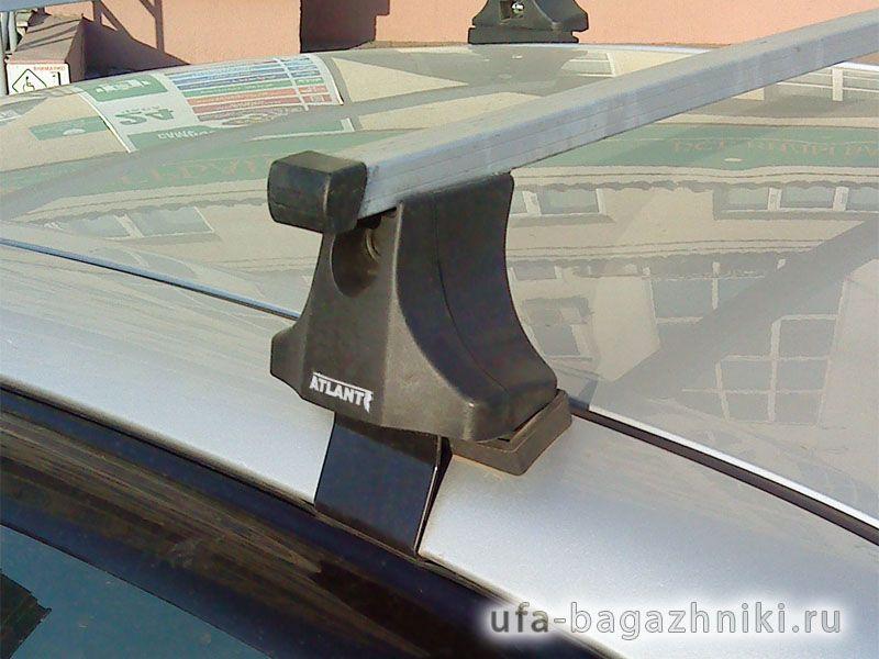 Багажник на крышу Toyota Corolla 2006-13, Атлант, прямоугольные дуги
