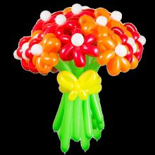 Букет из шаров Радужный