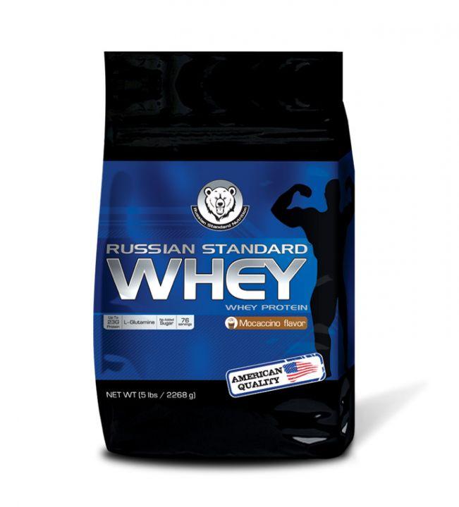 RPS Whey Protein (2270 гр.) - моккачино