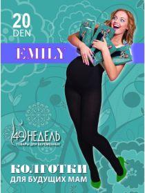Колготки Emily 20, ТМ «40недель», чёрный