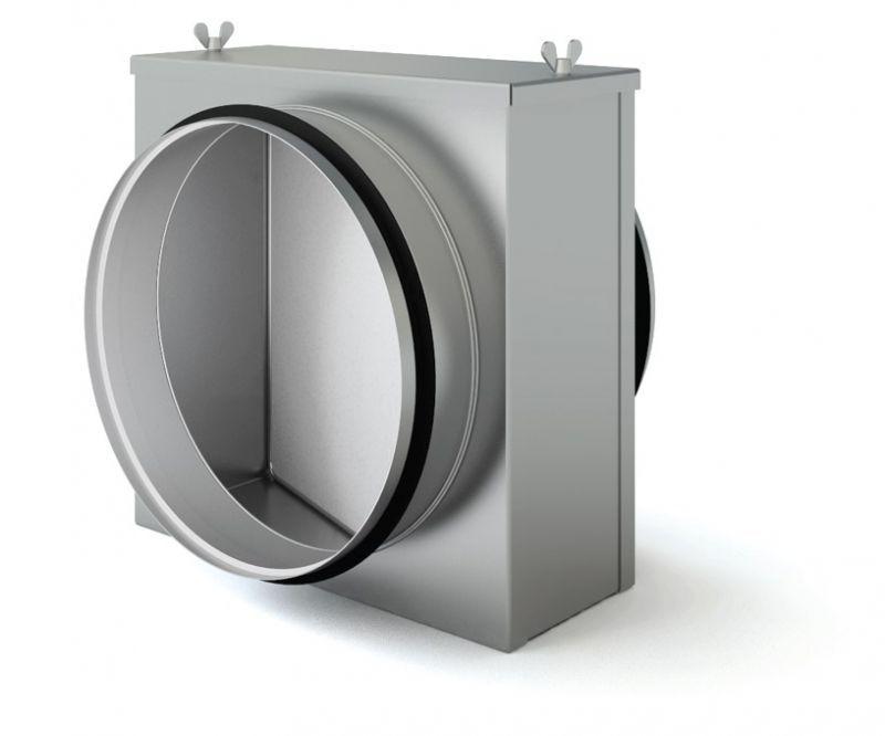 Воздушный фильтр для круглыx воздуxоводов ФЛК 100М1
