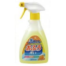 Антибактериальное пенящееся чистящее средство для ванной Foam spray Bathing wash с апельсиновым маслом