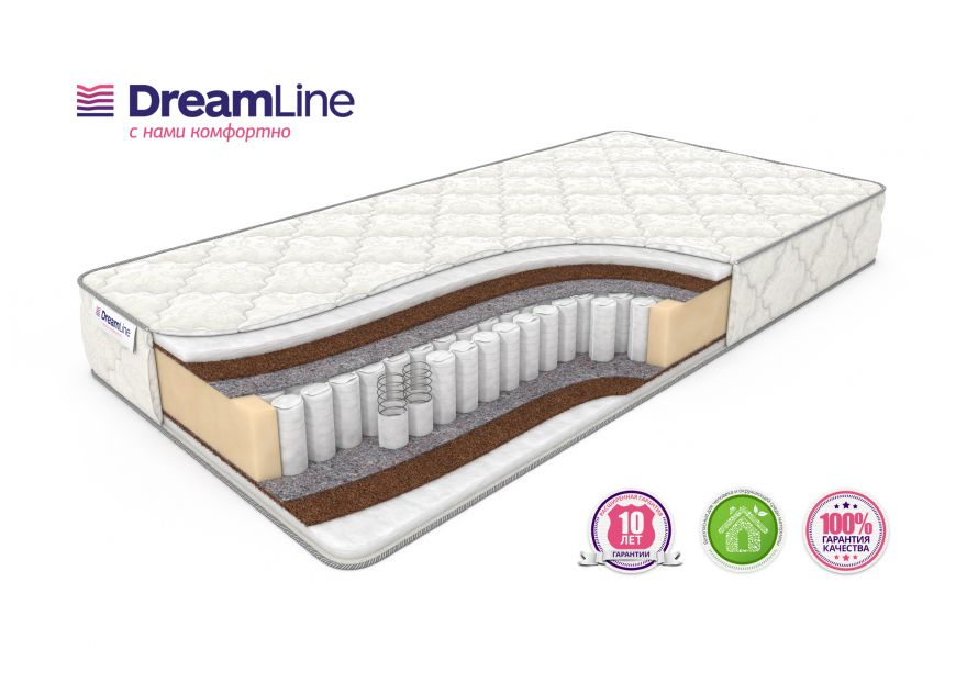 Матрас Eco Holl Hard TFK | DreamLine
