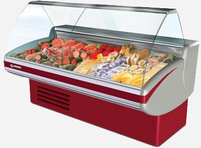 Витрина холодильная Cryspi Gamma-2 1200 встр. холод