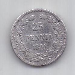 25 пенни 1894 г. редкий год