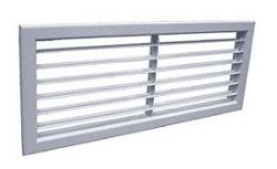 Решетка алюминиевая вентиляционная АМН-К 400х300