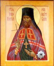 Иннокентий Иркутский (рукописная икона)