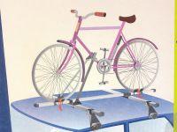 Велокрепление Amos Silver (3 ST Alu, серебристый цвет)