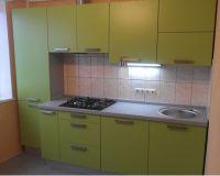 Недорогая маленькая, прямая кухня