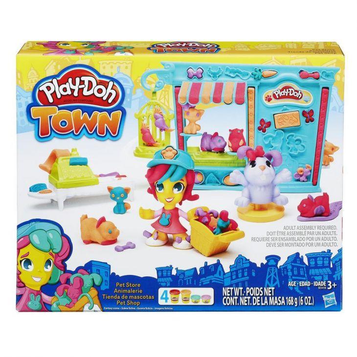 Город. Зоомагазин Play-Doh Hasbro