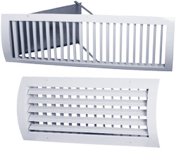 Решетка вентиляционная КДУ 200х100