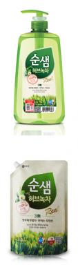 KeraSys Ср-во д/м посуды СУНСЭМ Зеленый чай