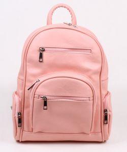 Розовый женский рюкзак