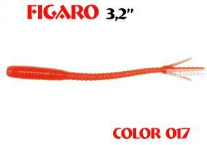 """Мягкая приманка Aiko  Figaro 3.2"""" 80мм / запах рыбы / цвет - 017  (упаковка 8шт)"""