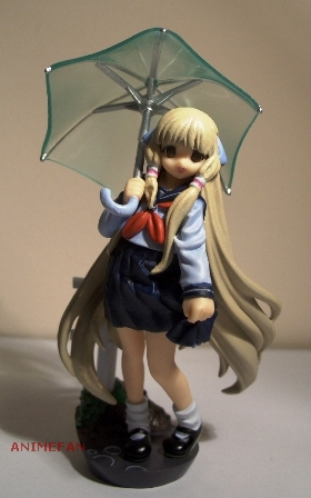 Chobits - Chii in the rain