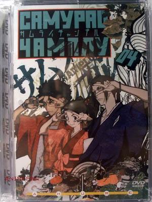 "DVD ""САМУРАЙ ЧАМПЛУ. Диск 4 "" / ""SAMURAI CHAMPLOO"""