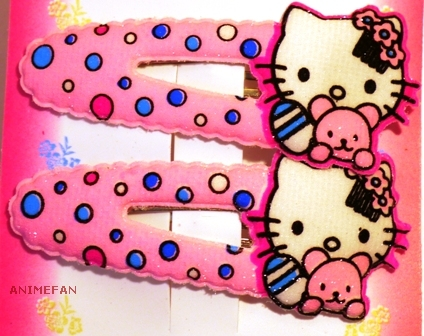 Заколки Neko_pink_02