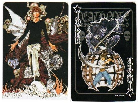 Игральные карты Death Note