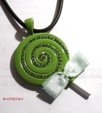 Кулон Candy_green
