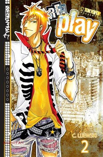 """Манга """"Re:Play"""" Том 2"""
