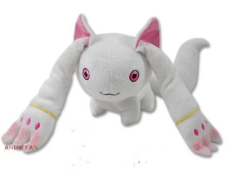 Мягкая игрушка Madoka Magica_Kyubey