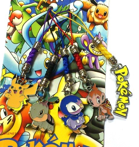 Набор подвесок для мобильного Pokemon