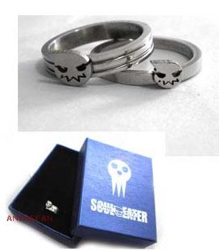 Парные кольца Soul Eater_01