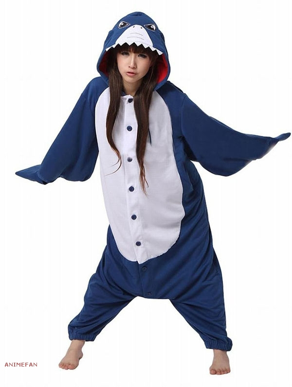 Пижама Кигуруми Акула_01