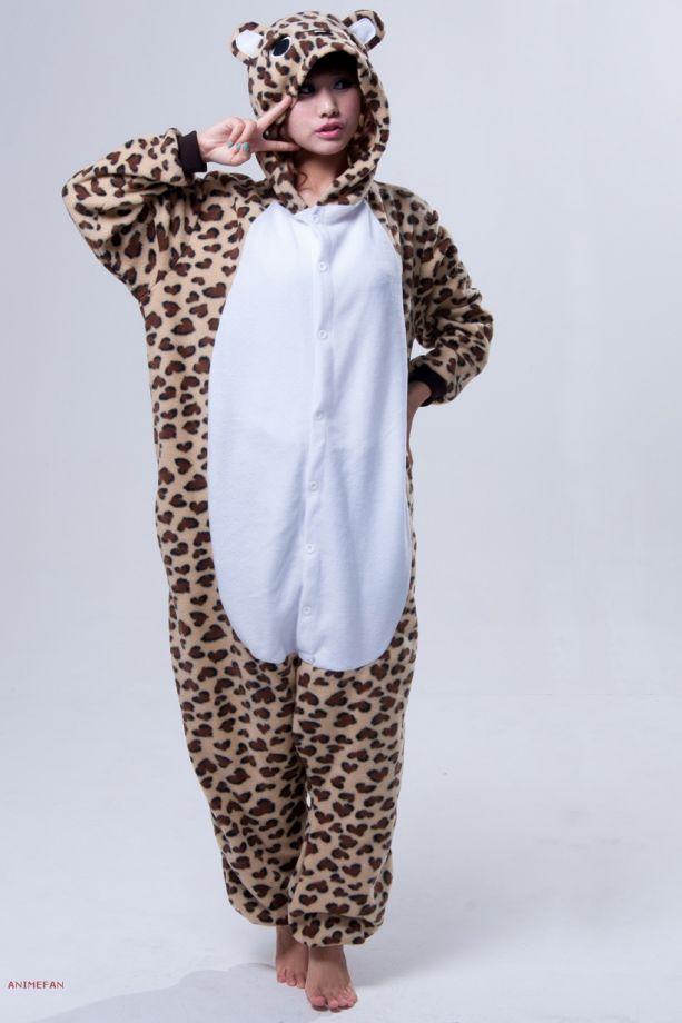 Пижама Кигуруми Леопард_01