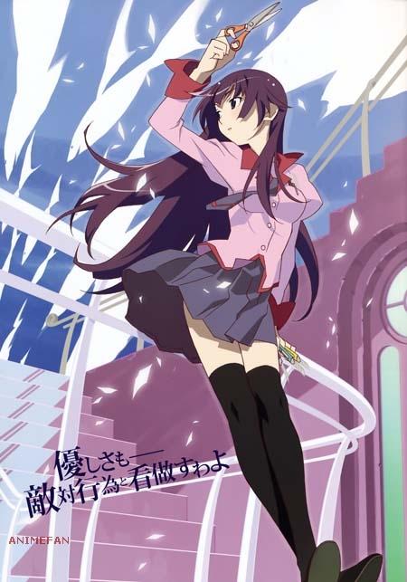 Плакат Bakemonogatari_02