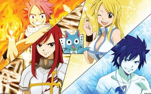 Плакат Fairy Tail
