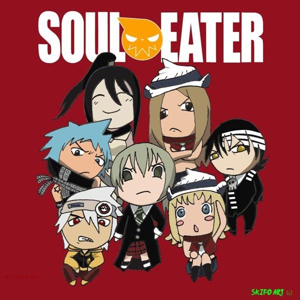 Плакат Soul Eater_03