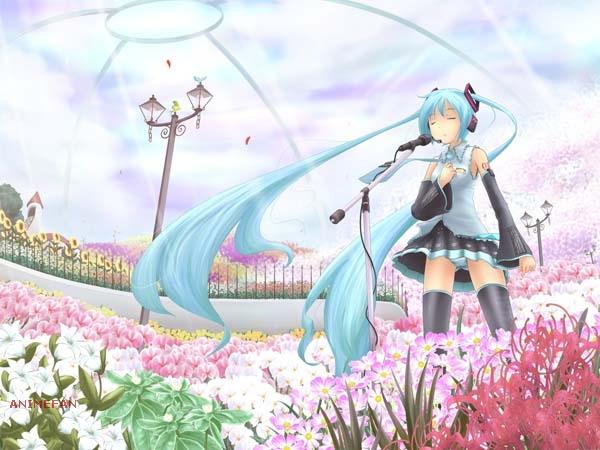 Плакат Vocaloid Hatsune Miku_02