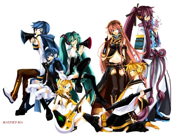 Плакат Vocaloid_01