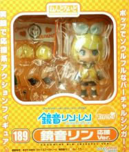 With Corrected Sticker Nendoroid - Rin Kagamine Cheerful Ver. Cheerful JAPAN Limited 189  ORIGINAL / Фигурка нендороид Кагамине Рин Вокалоид ОРИГИНАЛ из Японии!
