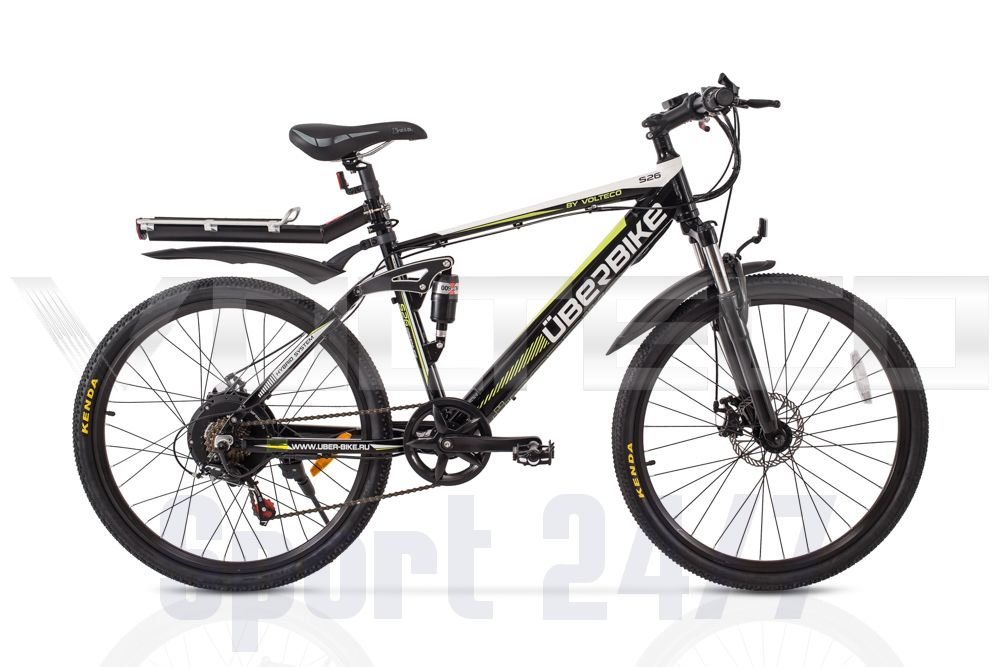 Электровелосипед Велогибрид UBERBIKE S26-500 (172-03)