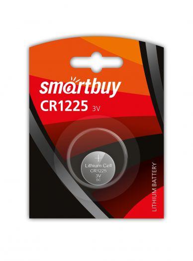 Батарейка литиевый элемент питания (диск) Smartbuy CR1225/1B