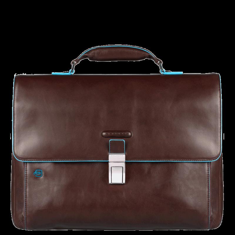 Портфель Piquadro CA3111B2/MO кожаный коричневый