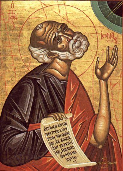 Иона, пророк (копия старинной иконы)