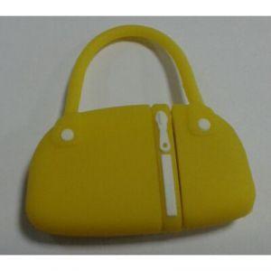 Флешка Дамская сумочка желтая