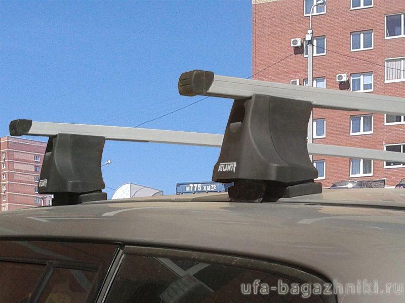 Багажник на крышу Toyota RAV4 1994-2000, Атлант, прямоугольные дуги