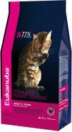 Eukanuba Sterilised/Weight Control Корм для взрослых кошек с избыточным весом и стерилизованных (10 кг)