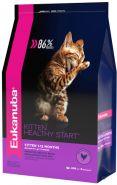 Eukanuba Kitten Корм для котят с домашней птицей (400 г)